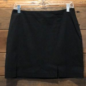 Black Miniskirt by Express
